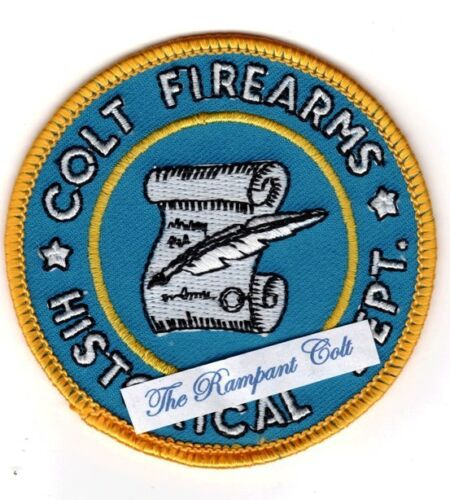 COLT FIREARMS HISTORICAL PATCH   NEW CONDITION
