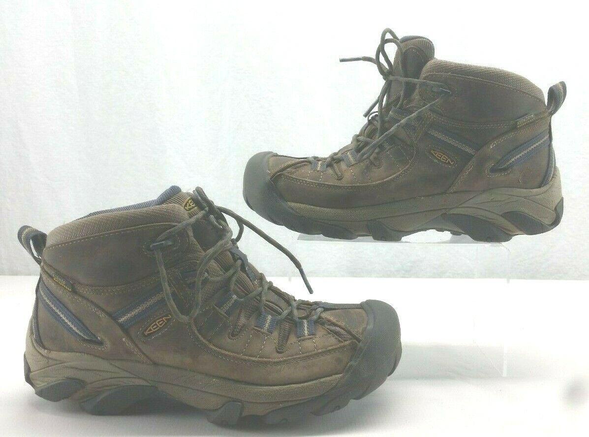 KEEN 1016581 Women's Targhee II Mid WP Hiking Boot Brown Purple Size 10
