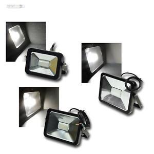 LED Fluter SlimLine MODERN 12-24V IP65 4000K Tageslicht Scheinwerfer Lampe Spot
