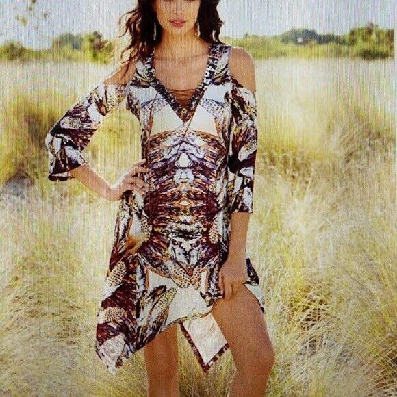 Boston Proper Journey Lace-up Dress, New, NWT, size XS