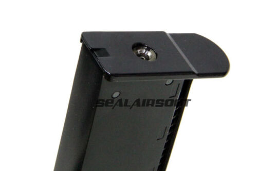 WE 15rds Airsoft Toy Gas Magazine For WE P38 Series GBB Black WE-MAG-063