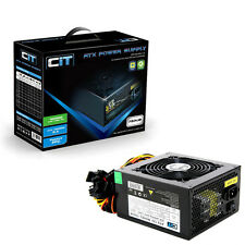 CiT 750W Black Edition ATX Gaming PC PSU Power Supply 120mm