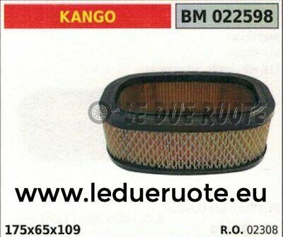 02308 Filtro Aria Completo Elemento Filtrante Motore Kango 175x65x109 Pulizia Della Cavità Orale.
