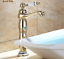 Gold Brass Bathroom Basin Sink Faucet Mixer Tall Single Hole Hot/&Cold Water Tap
