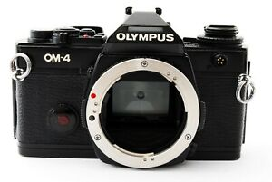 Olympus-OM-4-35mm-SLR-Film-Camera-Black-Body-Only-tested-from-Japan