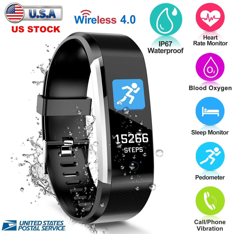 Wireless Fitness Activity Tracker Smart Watch W Heart Rate Sensor US activity Featured fitness heart rate sensor smart tracker watch wireless