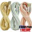 miniature 2 - 3Pack 10Ft USB Fast Charger Cable For Apple iPhone 12 11 8 7 6 XR Charging Cord