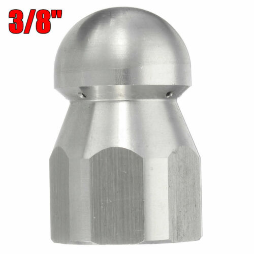 3//8/'/'F 1//2/'/'F Pressure Washer Drain Sewer Clean Pipe Jetter Rotary Nozzle 5 Jet