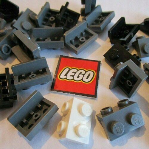 Packs of 8 LEGO Angular DOWN Bracket Plate 1x2-1x2 Design ID 99781