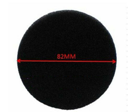 Dust sponge block tune sound 82mm pads for Sennheiser HD560 HD560II New