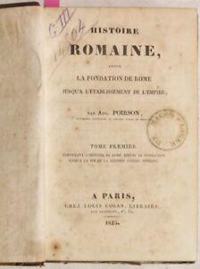 POIRSON-STORIA-ROMANA-FONDAZIONE-ROMA-PUNICA-1825