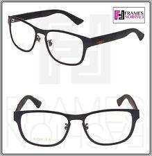 c972dead9a9 GUCCI Web 0175 Black Rubber RX Eyeglasses Optical Frame 54mm GG0175O Unisex