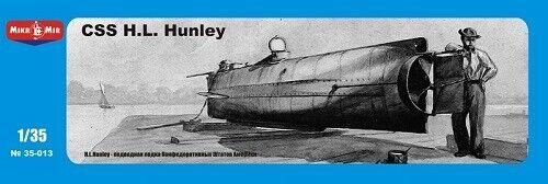 Micro Mir AMP MM35-013 Confederate submarine 1:35 CSS H.L.Hanley Neu