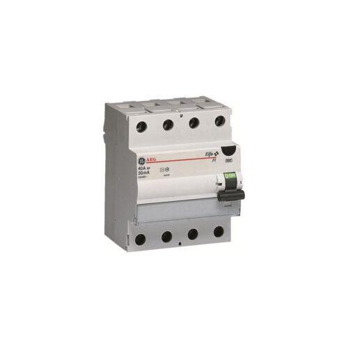 AEG FI40//0,03-4  Fehlerstrom-Schutzschalter 4-polig 40A 30mA Typ A