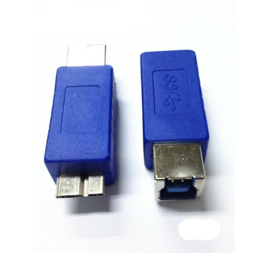 nEW USB 3.0 B Female to Micro B Male Converter Adapter Connector Plug Cable