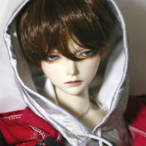 Fashion Dolls Full Wig Hairpiece Short Hair for 1//4 BJD SD LUTS Dollfie Doll DIY Making and Repair ACCS Multicolored Gradient