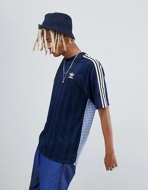 Adidas Originals B Side Three Stripes Jersey NWT XL Futbol Soccer Climalite