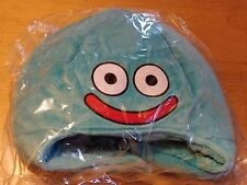 OFFICIAL DRAGON QUEST BLUE SLIME PLUSH HAT CAP BUILDERS HEROES - NEW AND SEALED