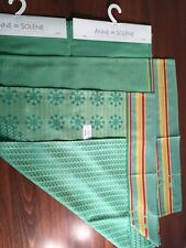Anne de Solene tea towels dishcloth set of 3 for glasses dishes hand from FRANCE
