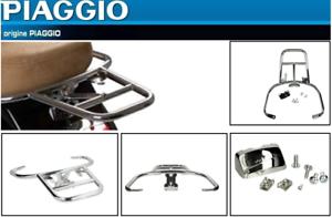 Porte-bagage-Arriere-Chrome-SUPPORT-TOP-CASE-LX-S-ORIGINE-VESPA