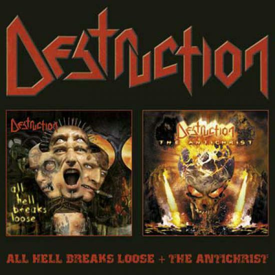 Destruction - All Hell Breaks Loose / The Antichrist DCD #39154
