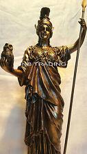NEW Athena Greek Goddess Of Wisdom & War Statue Sculpture Figurine FAST SHIPPIN