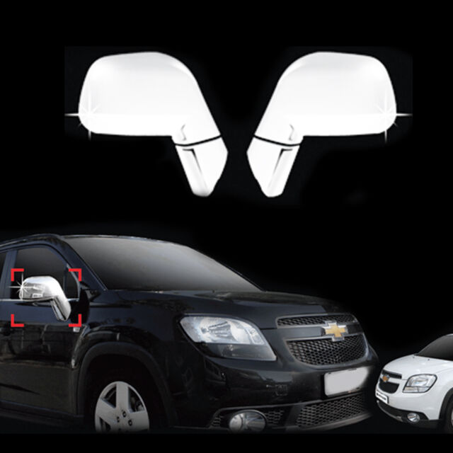 Chrome Side Rear View Mirror Molding Trim Cover For 10 Chevrolet