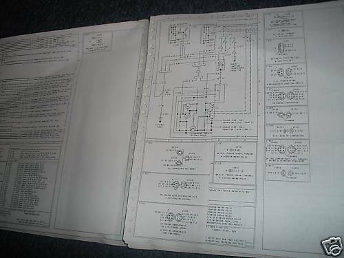1981 Ford Courier Wiring Diagram Manual Set Oem