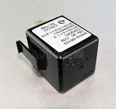 617-Honda Acura 3-Pin Turn Signal Flasher Brown Relay Mitsuba FR-3319 FR3319