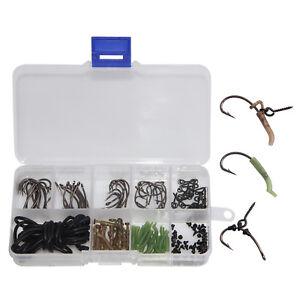 20pcs Carp Fishing Tackle Hair Rig Boilie Bait Drill Stops Boilie 10pcs