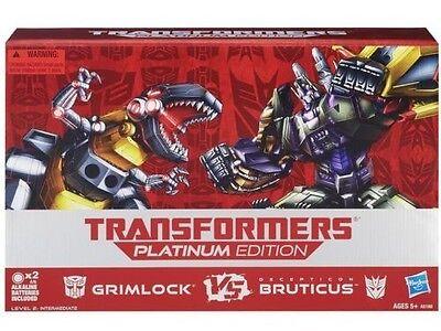 Transformers FOC Platinum Grimlock & Bruticus Maximus Combaticon Combiner SET