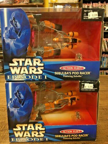 Galoob Star Wars Episode I Sebulba's Pod Racer Sealed