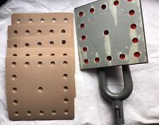 Dustless Flat Sander Square 8x8 Head Only 5 Hook Amp Loop Sandpaper Grit Bero