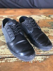 aldo mens casual shoes / dress sneakers black and gray