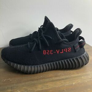 huge selection of d3495 607c2 Details about Adidas Yeezy Boost 350 v2 Bred Size 9 Authentic Guaranteed  Used Kanye West