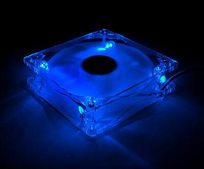 [ZALMAN] ZM-F3 Blue LED SF 120mm ULTRA QUIET PC Case Fan,3pin,12V,EBR,Shark fin