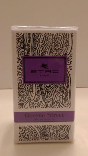 ETRO GREENE STREET UNISEX EAU DE TOILETTE SPRAY 3.3 OZ / 100 ML NIB SEALED