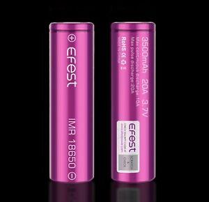 batterie efest 18650