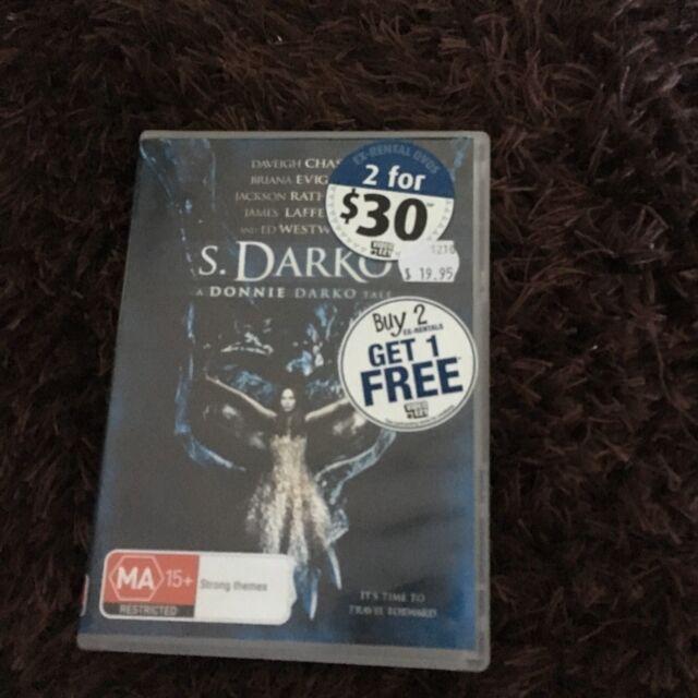 S. DARKO, DONNIE DARKO TALE DVD. EX-RENTAL