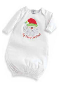 d0e55357a51 Mud Pie Baby MY FIRST CHRISTMAS SLEEPER GOWN 0-6 months 130262 1st ...