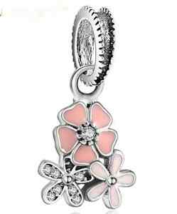 b2e6a49fc Image is loading New-Silver-Sterling-poetic-bloom-daisy-flower-Hanging-