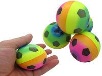 48x Softball Regenbogen Stressball 6 Cm Schaum Ball Schaumstoffball Qutschball