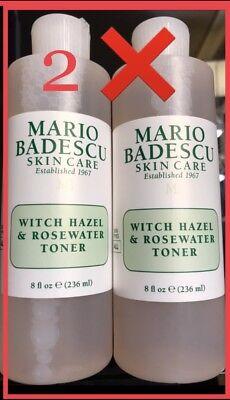 Lot 2 Mario Badescu Witch Hazel Rosewater Toner Sealed 35 785364200487 Ebay
