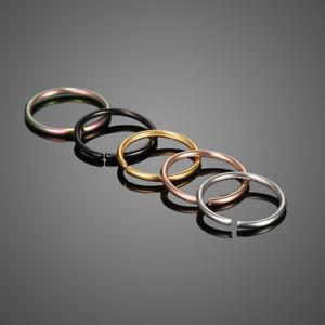 5PCS-Steel-Nose-Hoop-Rings-Eyebrow-Rings-Ear-Lip-Cartilage-Helix-Daith-Earrings