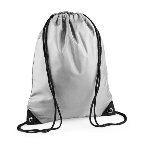 Premium Gym Bag Gymsac Sack Water Resistant Sports Drawstring School PE BG010