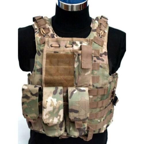 Chaleco táctico estilo militar  FSBE modelo multicam A envio 24//48h