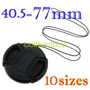 58mm Lens Cap Cover for Canon Nikon Sony Pentax Sigma Tamron Olympus Fuji DSLR