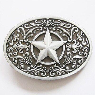 BRAND NEW STAR TEXAS COWBOY WESTERN BELT BUCKLE!!!