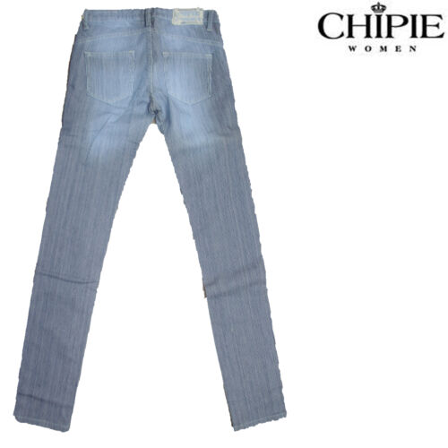 Used Thrdsqc Jeans Vintage Piper Chipie Modèle Jean Slim Rayé Fit Femme 8OPkX0nw