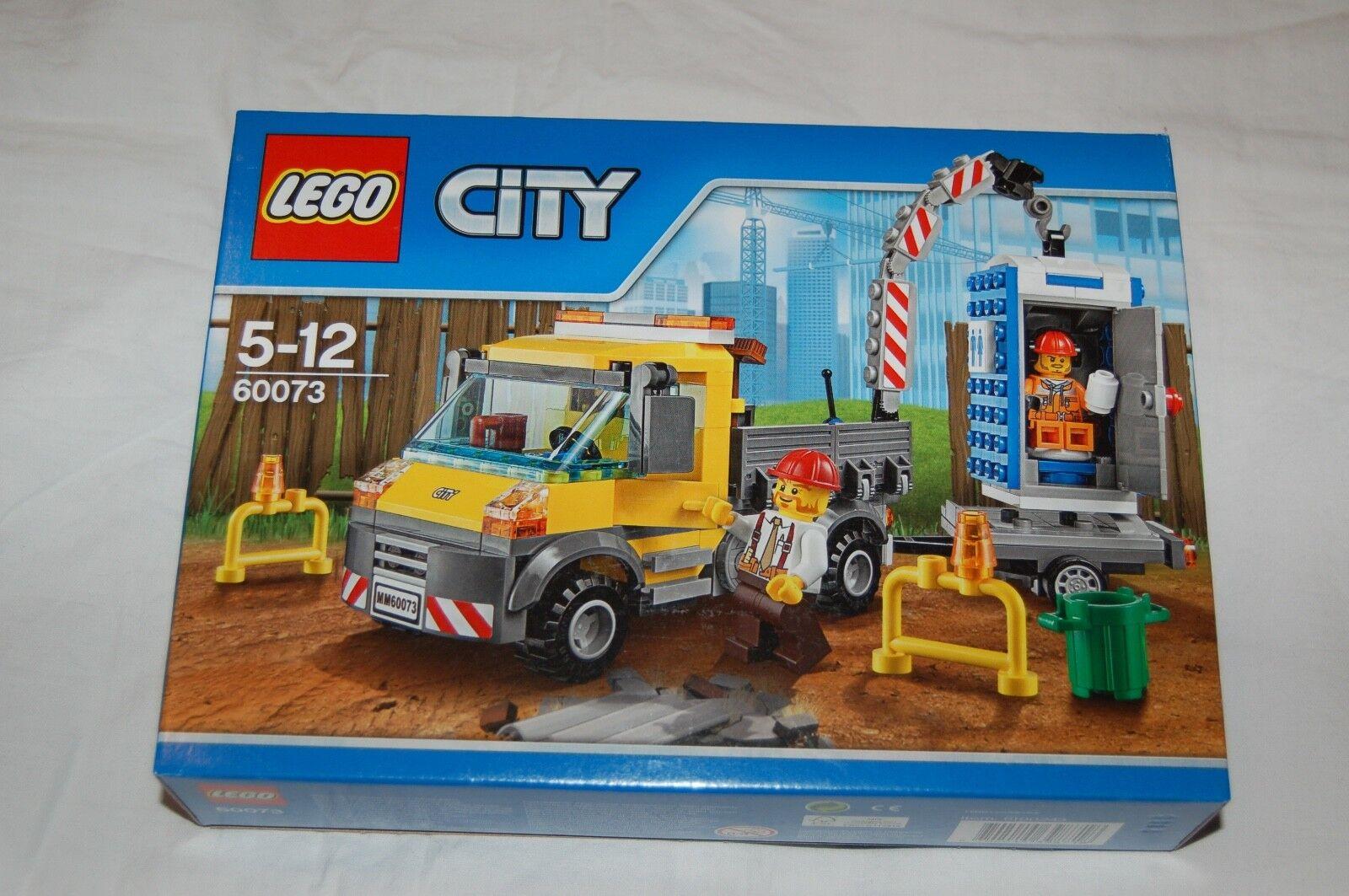 LEGO CITY 60073 Baustellentruck NEU  passt zu 60118 60075 60076 60074 60072